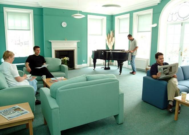 Sala di relax per i studenti a Kingsway